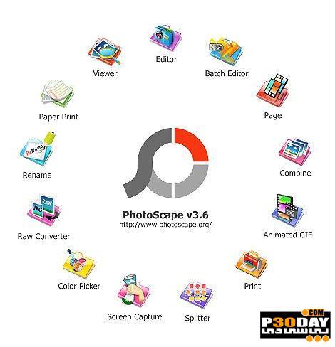 برنامه مشاهده و ویرایش سریع تصاویر PhotoScape X 4.0.2