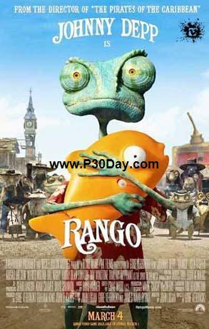 دانلود انیمیشن زیبا Rango 2011 + زیرنویس فارسی