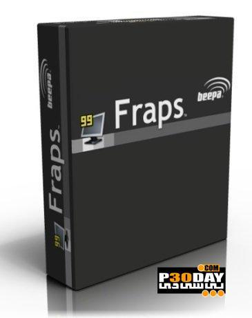 برنامه عکسبرداری و فیلمبرداری Fraps v3.4.6 Build 13747