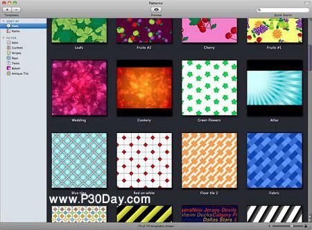نرم افزار ساخت پترن برای سیستم عامل مک Patterno 2.2 Mac OSX