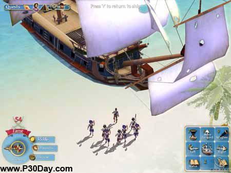 دانلود بازی 2004 Sid Meier's Pirates + کرک