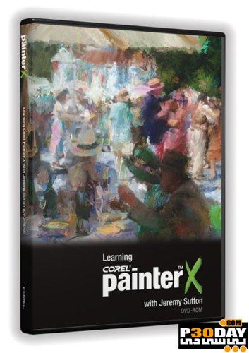 دانلود ویدیوی آموزشی نکات و تکنیک های Corel Painter X