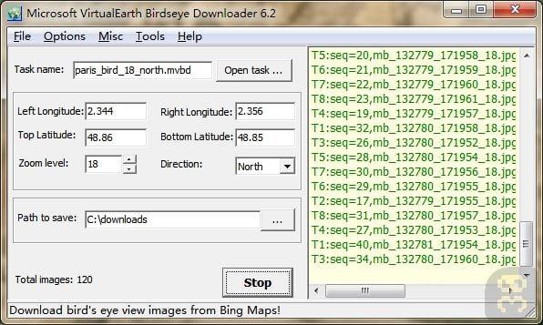 دانلود نقشه ماهواره AllMapSoft Microsoft VirtualEarth Birdseye Downloader 6.50