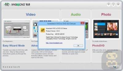 تبدیل نوار کاست ویدئویی به DVD با HonesTech VHS to DVD 10.0.13 Deluxe