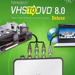 تبدیل نوار کاست ویدئویی به DVD با HonesTech VHS to DVD 8.0.3 Deluxe