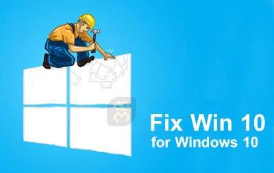 FixWin for Windows10 v10.2 [Soluciona errores en windows] [Ingles] [Tres Servidores] FixWin-10-for-Windows-10-Portable