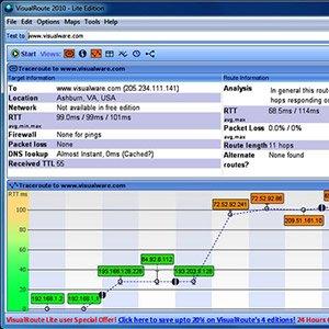 دانلود VisualRoute Lite 14.1a – مکان یابی ISP و IP ها با