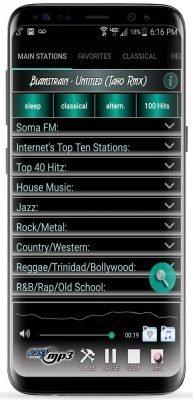 ضبط برنامه های رادیو در اندروید با Internet Radio Recorder Pro v4.0.6.5