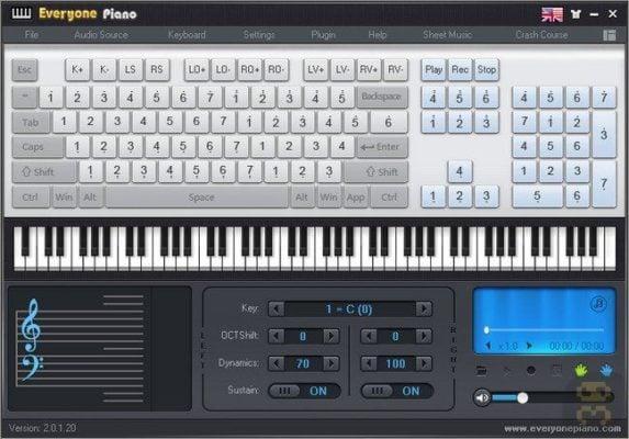 دانلود Everyone Piano 2.1.7.13 - برنامه نواختن و یادگیری پیانو کامپیوتر