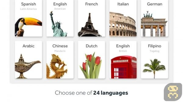 دانلود Rosetta Stone v5.11.2 - دانلود نرم افزار آموزش مکالمه زبان انگلیسی اندروید