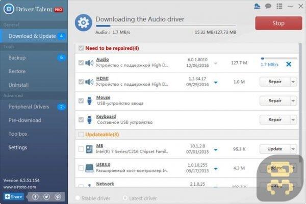 دانلود Driver Talent Pro 7.1.30.2 - برنامه آپدیت خودکار درایور کارت گرافیک