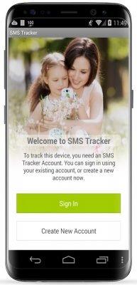 SMS Tracker 4.065 - دریافت اس ام اس دیگران در گوشی اندروید خود