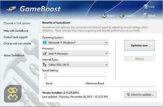 PGWare GameBoost 3.9.16.2019 - Computer Optimization For Games