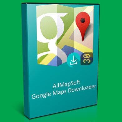 دانلود AllMapSoft Google Maps Downloader 8.773 - دانلود نقشه های گوگل مپز