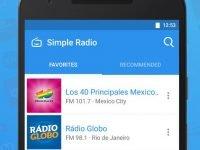 دانلود Simple Radio v3.1.1 - نرم افزار گوش دادن به رادیو های دنیا اندروید