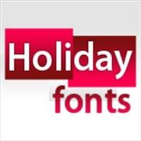 دانلود Holiday Fonts Collection – فونت کریسمس فوق العاده زیبا