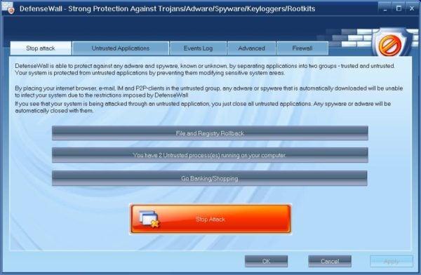 دانلود DefenseWall Personal Firewall 3.25 - فایروال جدید