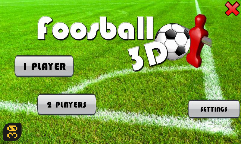 دانلود Foosball 3D v2.0.0 - بازی فوتبال دستی اندروید