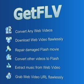 GetFLV Pro 9.1998.968 – دانلود,مدیریت و پخش فایل های FLV