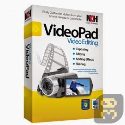 دانلود NCH VideoPad Video Editor Professional 8.28 - دستکاری فایل های ویدئویی
