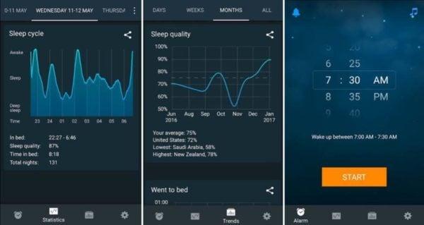 دانلود Sleep Cycle v3.7.0.4096 - نرم افزار ساعت هوشمند اندروید