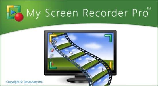 دانلود نرم افزار Deskshare My Screen Recorder Pro v5.21 - فیلم برداری از دسکتاپ