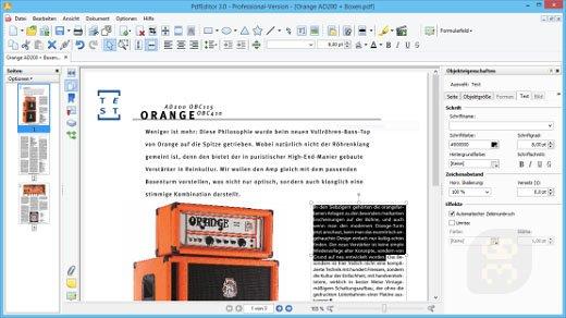 PixelPlanet PdfEditor 4.0.0.12 - Professional Editing PDFs
