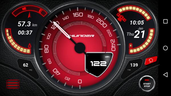 دانلود Speedometer GPS Pro v3.7.69 - برنامه سرعت سنج جی پی اس اندروید