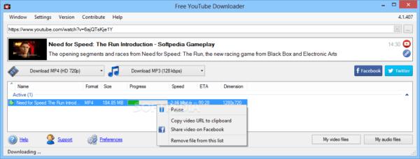 دانلود Free YouTube Download 4.1.88.1229 - دانلود رایگان ویدیو از سایت یوتیوب