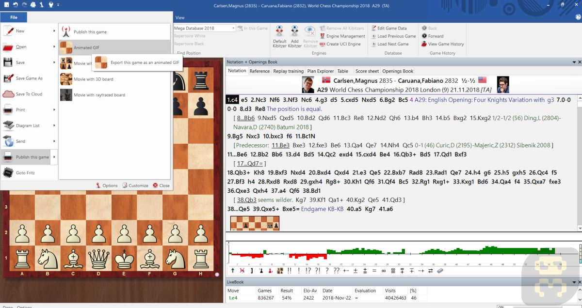 ChessBase 15.12 - Chess Learning Software