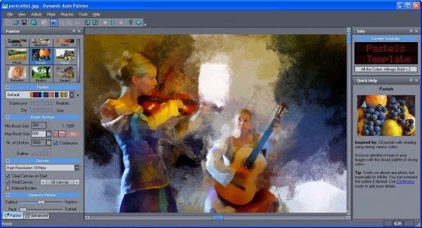 دانلود MediaChance Dynamic Auto Painter Pro v6.11 - تبدیل عکس به نقاشی