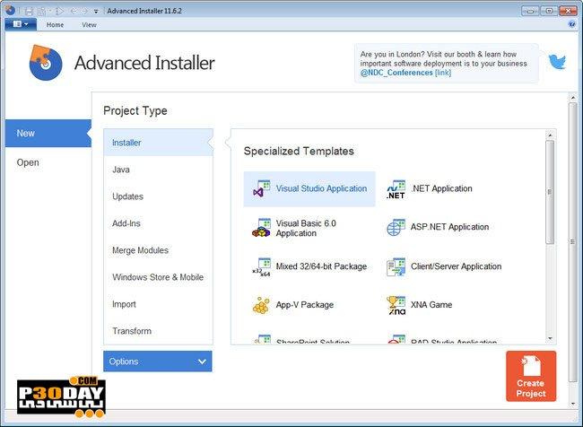 Advanced Installer Architect 12 6 1 ساخت فایل نصب - 4770
