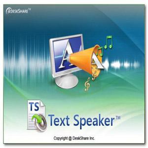 برنامه خواندن متن های نوشتاری Deskshare Text Speaker 3.27