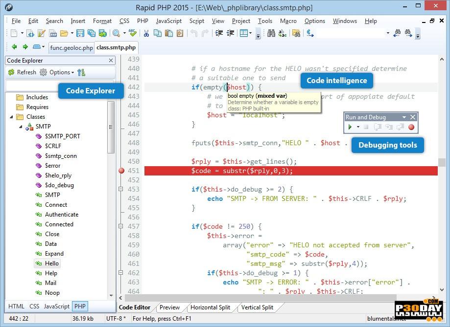 Blumentals Rapid PHP 2020 V16.0.0.223 - PHP Website Design