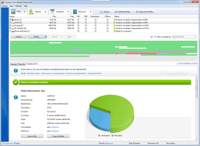 دانلود Auslogics Disk Defrag Pro 9.0.0.1 - دفرگمنت هارد دیسک