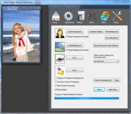 دانلود Green Screen Wizard Professional 10.4 - برنامه برش و زیبا سازی تصاویر
