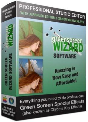 دانلود Green Screen Wizard Professional 10.5 - برنامه برش و زیبا سازی تصاویر