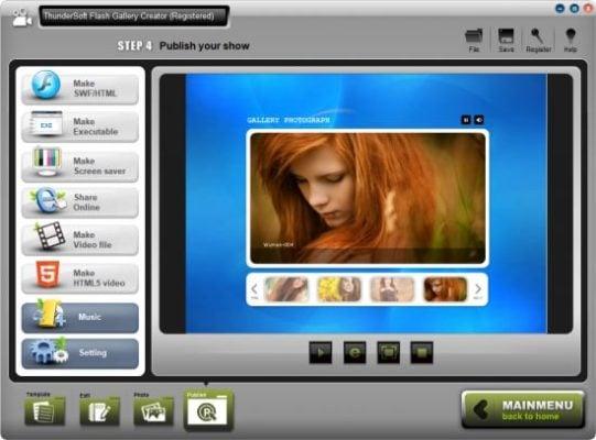 دانلود نرم افزار ThunderSoft Flash Gallery Creator 2.8.0 – ساخت گالری فلش