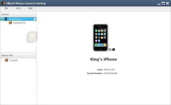 دانلود Xilisoft iPhone Contacts Backup 1.2.26 - بکاپ از بخش مخاطبین آیفون
