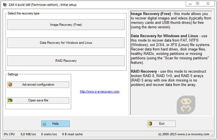 Zero Assumption Recovery 10.0.1641 - Recovery Of Personal Information