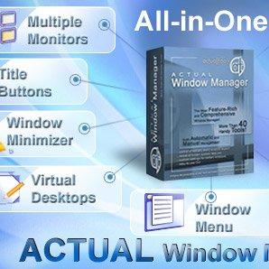 دانلود Actual Transparent Window 8.14.2 – مدیریت پنجره های در حال اجرای ویندوز