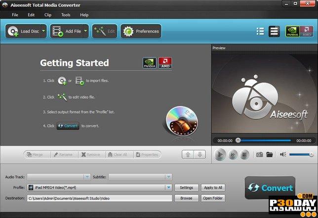 Aiseesoft Total Media Converter 9.2.20 - Multipurpose Multimedia Converter