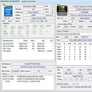 دانلود HWiNFO 6.01 Build 3630  – نمایش تمامی اطلاعات سخت افزار سیستم