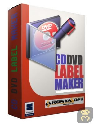 دانلود RonyaSoft CD DVD Label Maker 3.2.18 - طراحی برچسب سی دی و دی وی دی