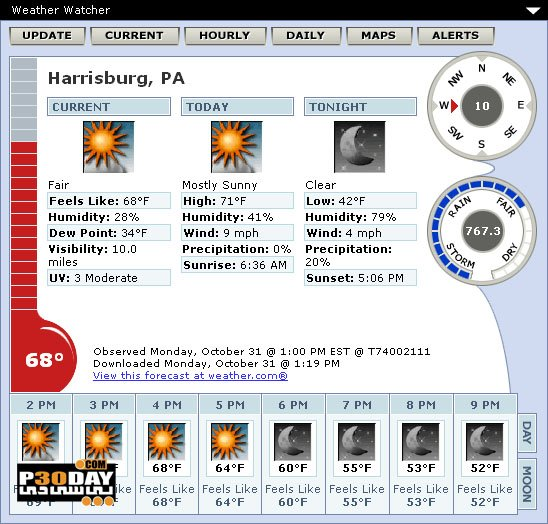 Weather Watcher Live 7.2.118 - Weather View
