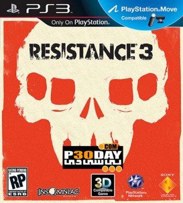 دانلود بازی Resistance 3 برای PS3 با لینک مستقیم