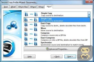 دانلود Second Copy 9.0.0.3 - پشتیبان گیری فایل ها