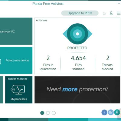دانلود Panda Free Antivirus 18.07 – آنتی ویروس رایگان پاندا