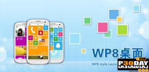 تم ویندوز فون 8 برای آندروید Launcher WP8 v1.2.2