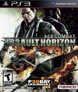 Ace Combat Assault Horizon ps3 cover